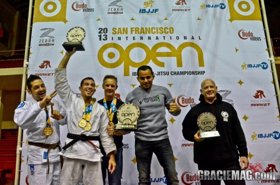 Team Yemaso Wins IBJJF Team Title at the IBJJF San Francisco 2013 Open