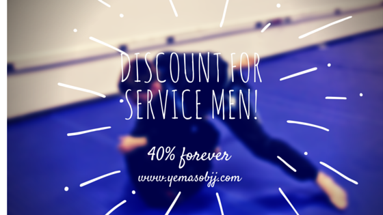 40% Off Memberships for Service Men & Women